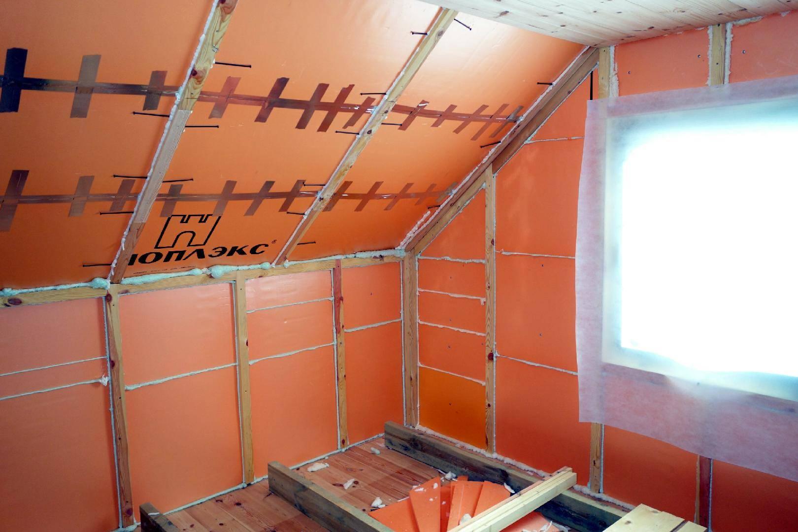 Как выбрать и правильно крепить утеплитель к стене из дерева, кирпича или бетона