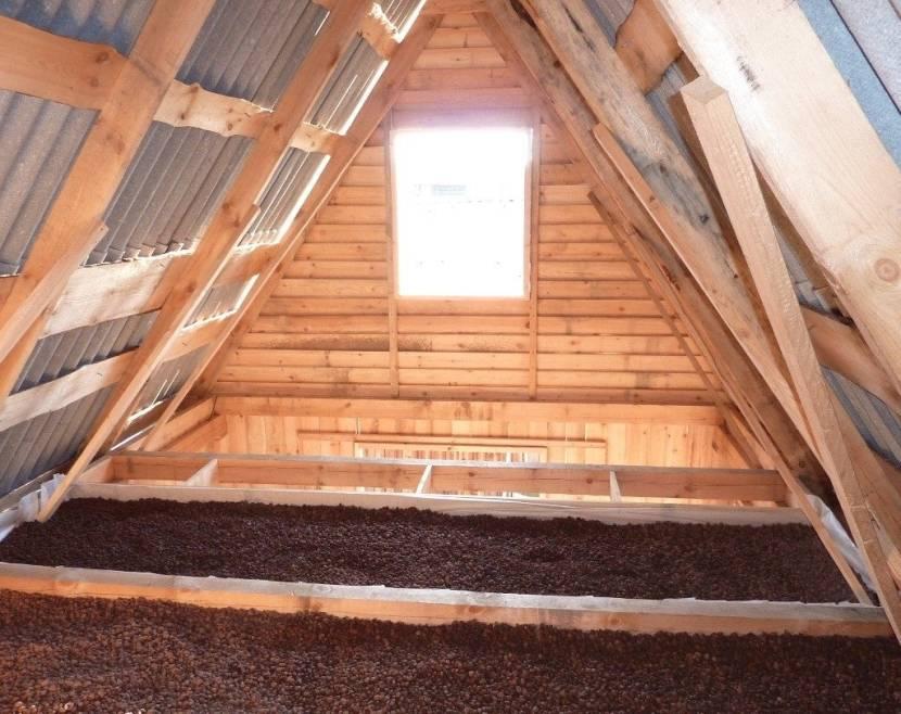 Чем и как утеплить крышу бани своими руками