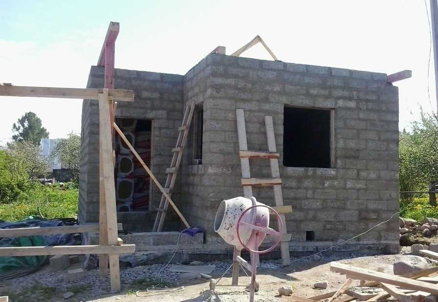 Баня из пеноблоков своими руками: проект для поэтапного строительства и способы внутренней отделки