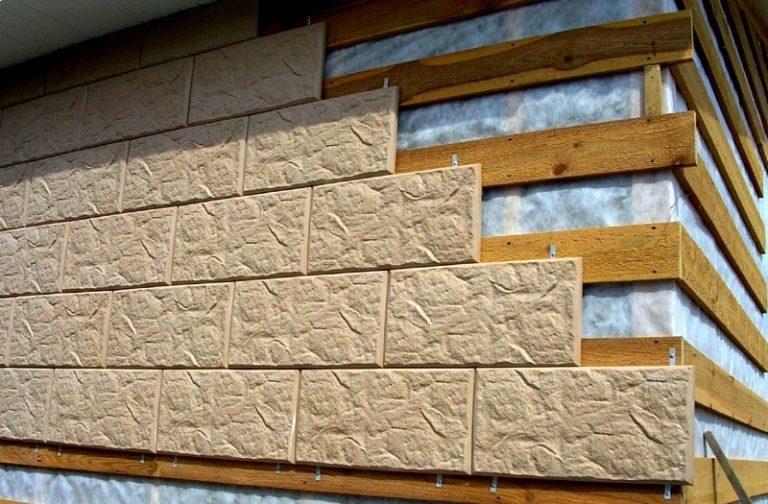 Фасадные панели для внешней отделки частного дома