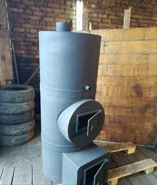 Печь для бани из трубы: варианты, конструкция, чертежи и изготовление своими руками