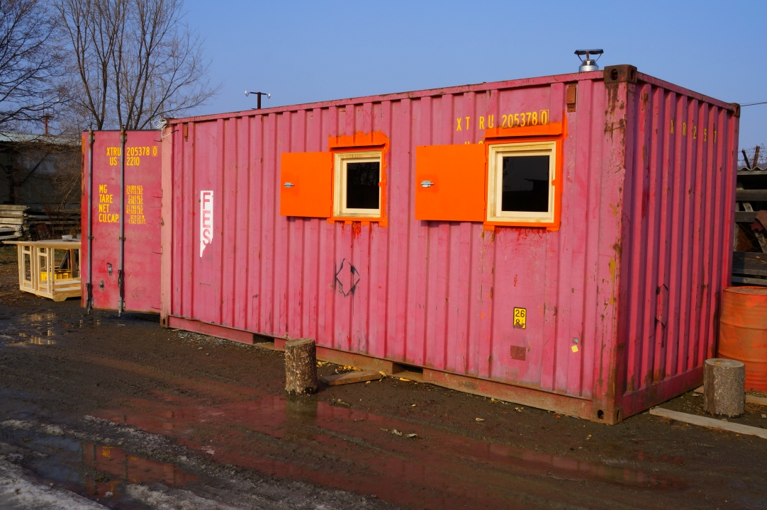 Баня из морского контейнера своими руками, 20-40 футов и 5 тонн