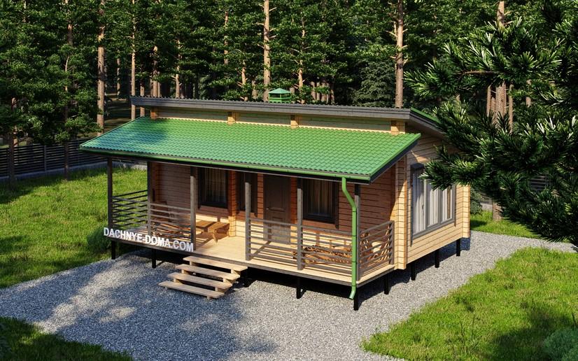 Односкатная крыша для бани— стоит или нет? реальные отзывы