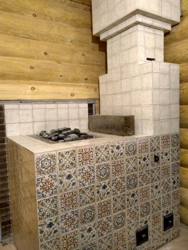 Облицовка печки керамической плиткой: как обкладывать кафельной плиткой печь своими руками, видео