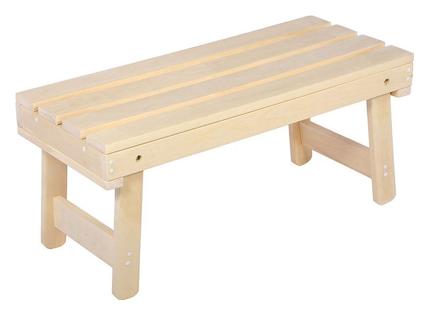 9 этапов изготовления скамейки для бани [+обзор 4 основных материалов]