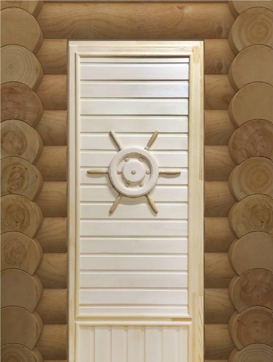Размеры входных дверей для бани, парилки и сауны — выбираем правильно