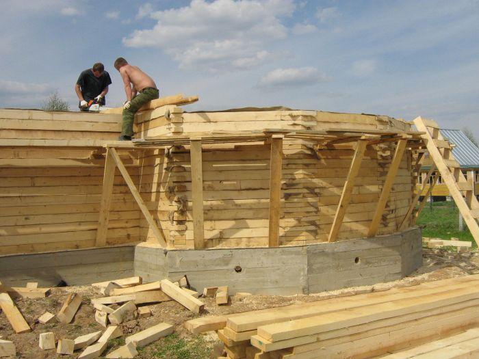 Из какого материала лучше строить баню