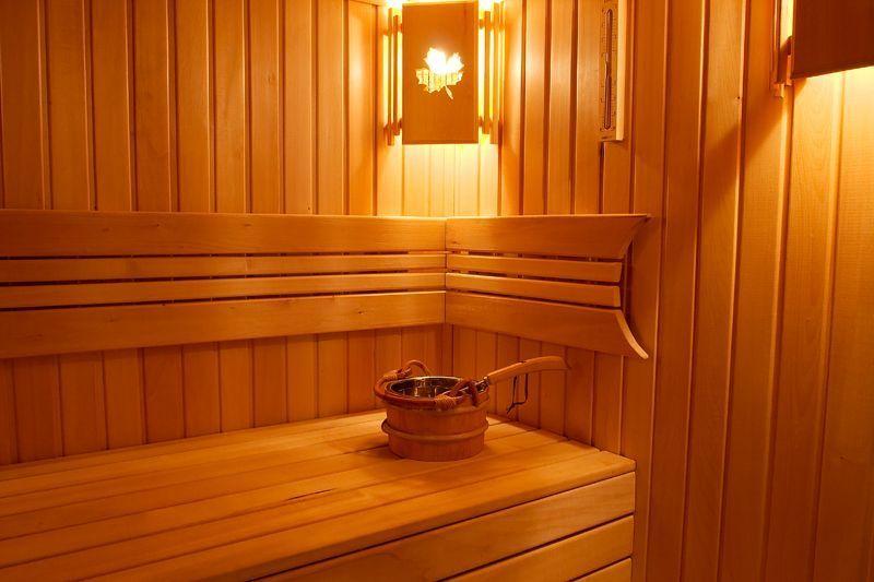 Как сделать освещение в бане