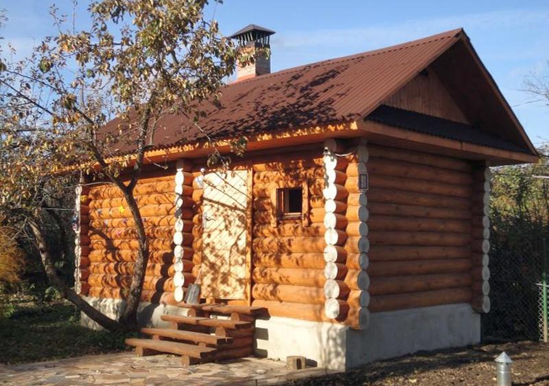 Крыша бани: разновидности, конструктивные особенности, способы сооружения