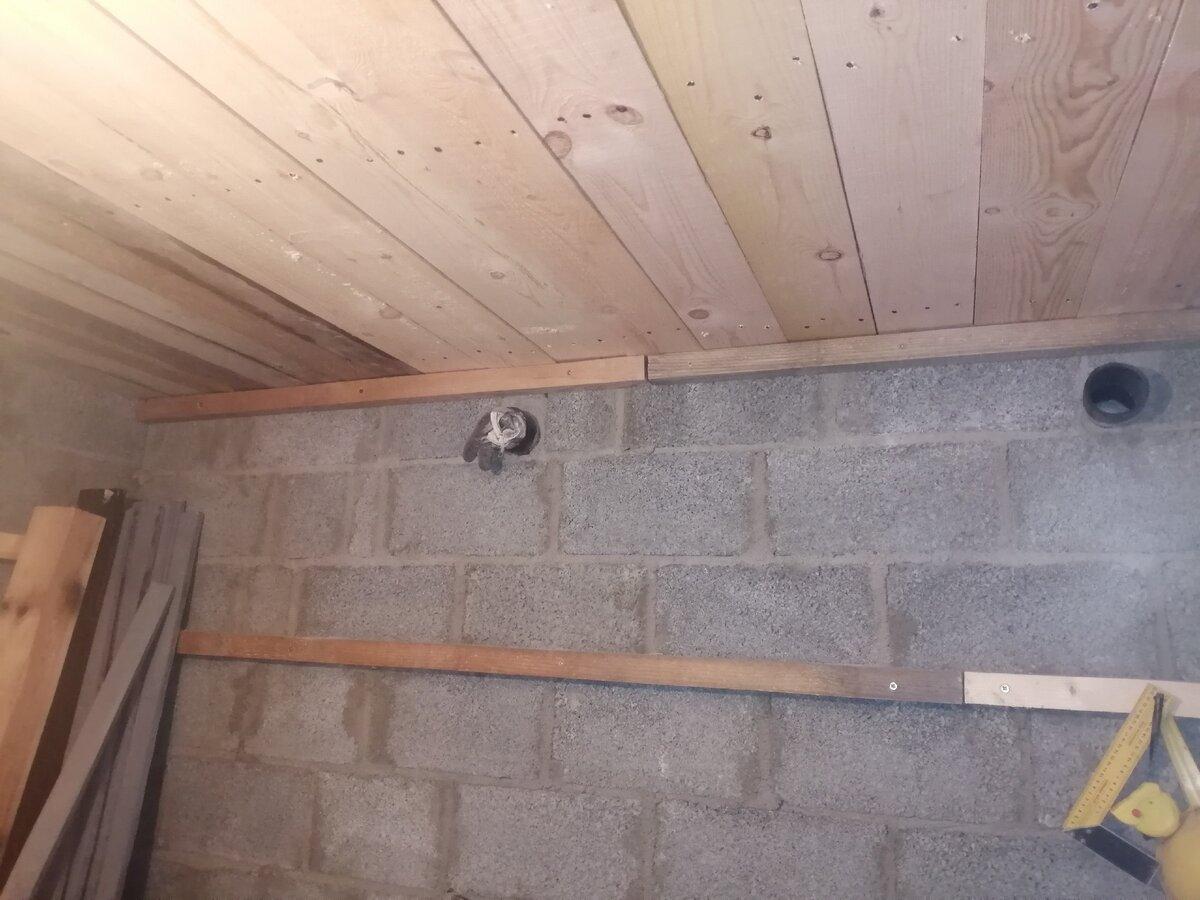 Потолок из керамзитобетона оптоволокно в бетоне