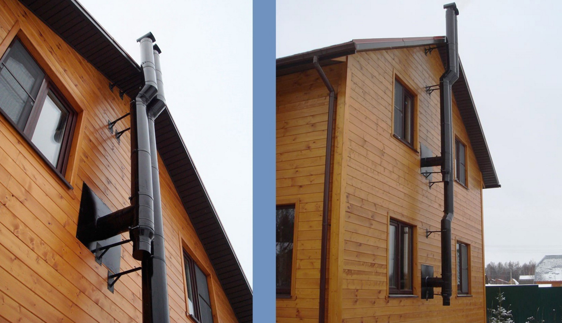 Монтаж дымохода в частном доме: правила, условия и как установить правильно