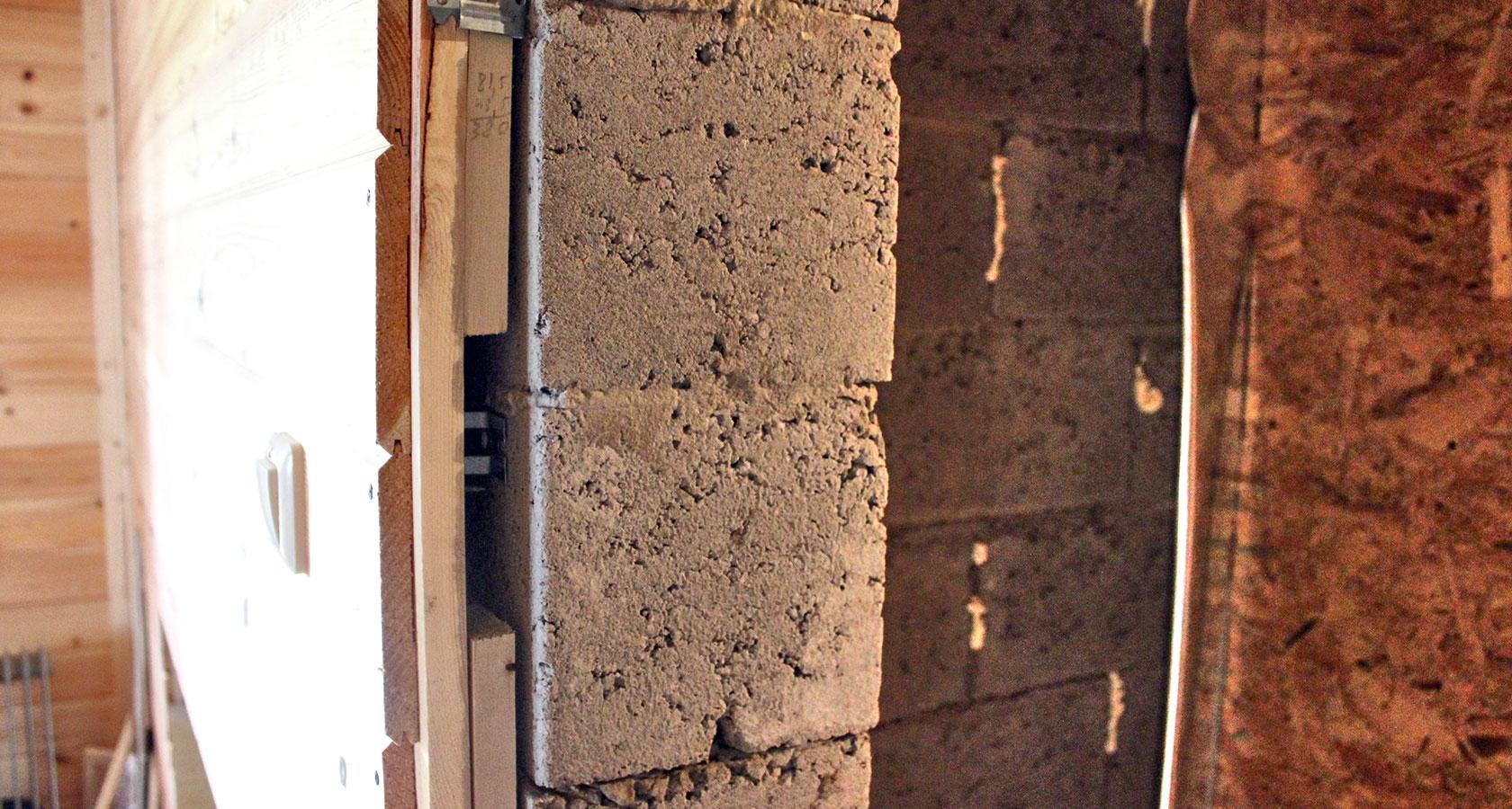 Утепление бани из керамзитобетонных блоков своими руками   тепломонстр