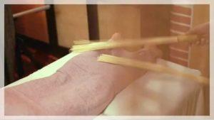 Бамбуковый веник для бани: плюсы и минусы азиатского новшества + некоторые массажные техники