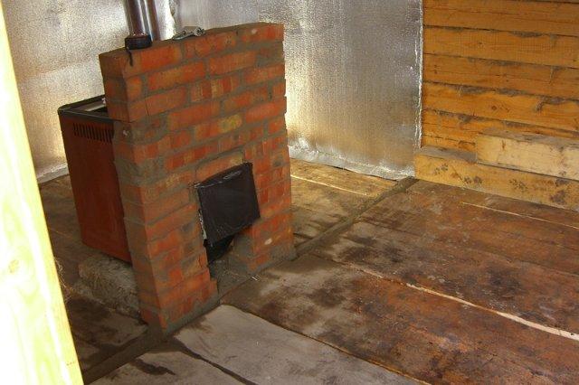 Строительство каркасной перегородки в бане-срубе: монтаж каркаса с утеплением