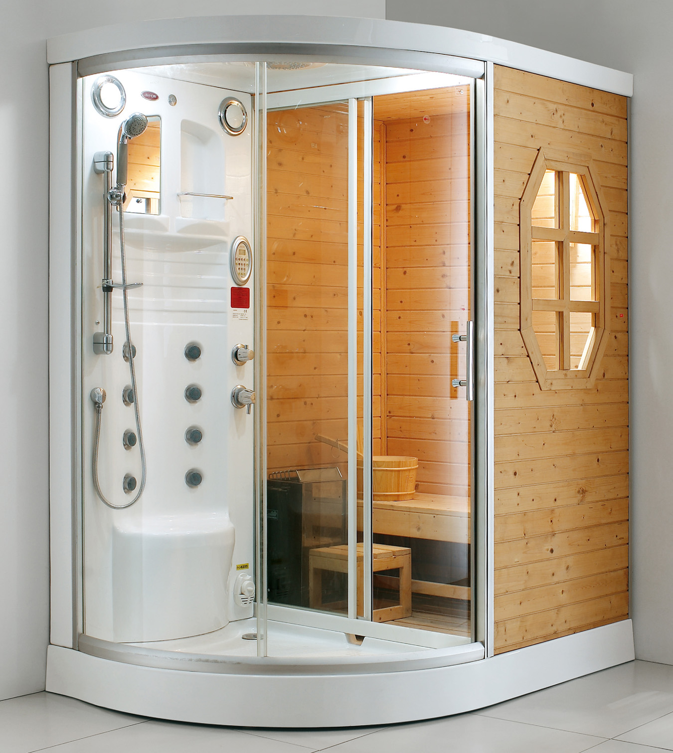 Сауна дома в ванной: устройство мини сауны в квартире (+ фото)