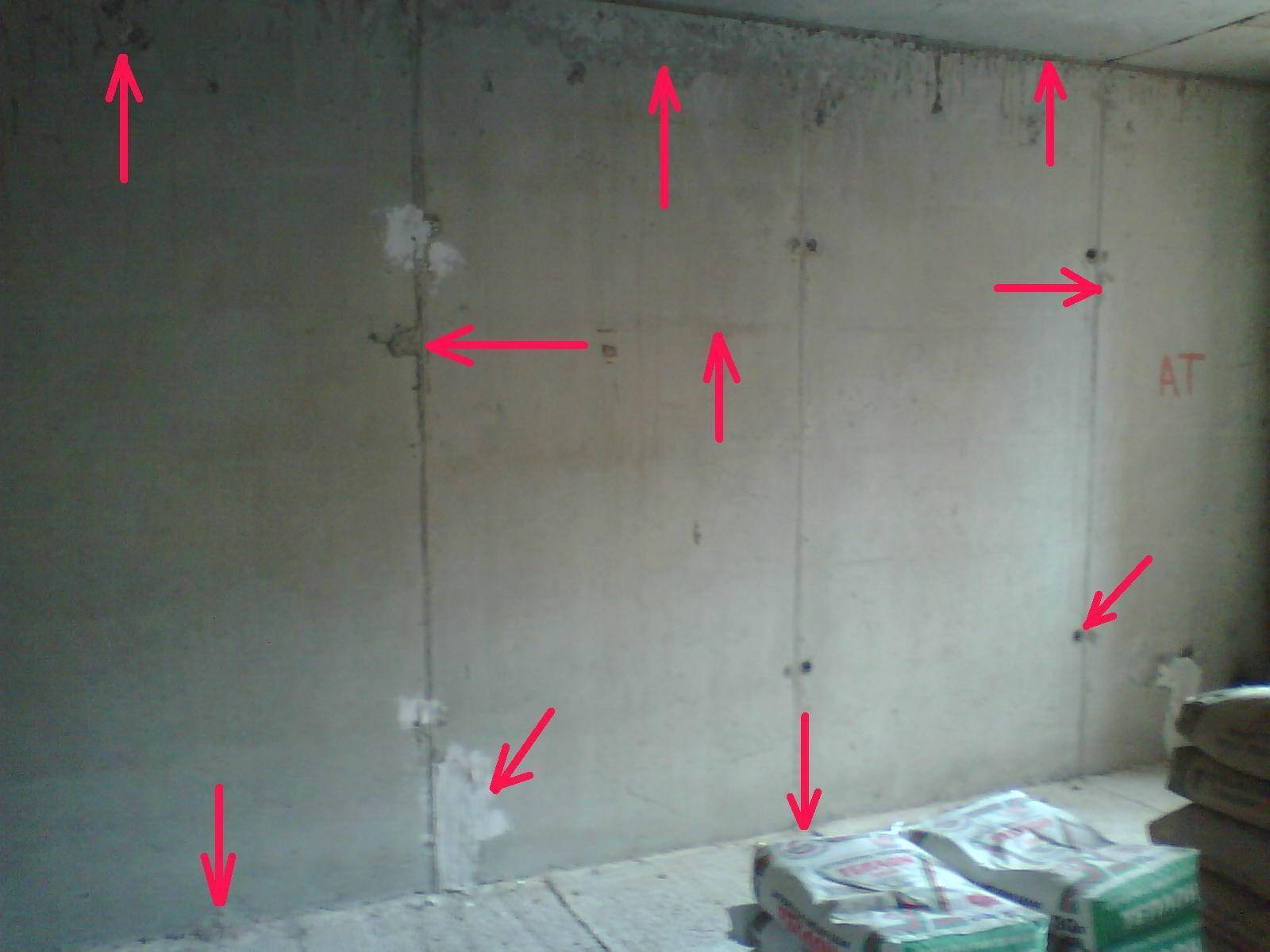 Установка штукатурных маяков на стену своими руками, виды маяков и способы установки.