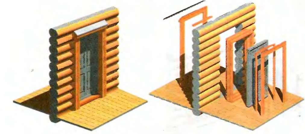 Приемы установки дверей в бане и способы утепления своими руками