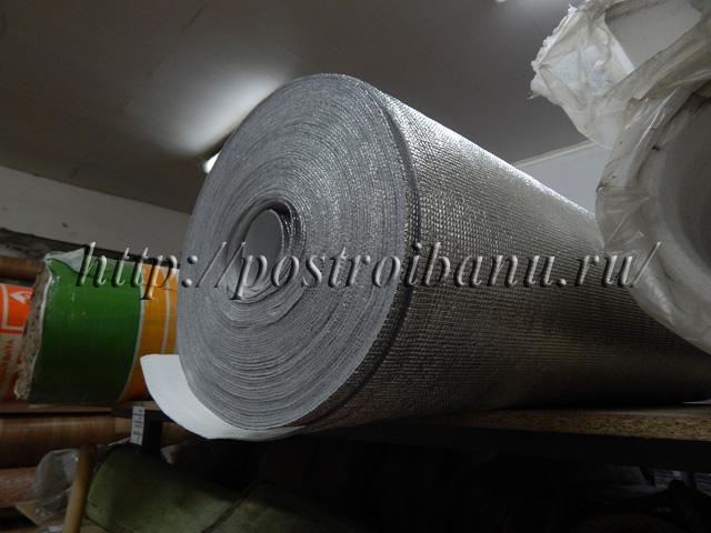 Фольга для бани— наилучший теплоотражающий материал