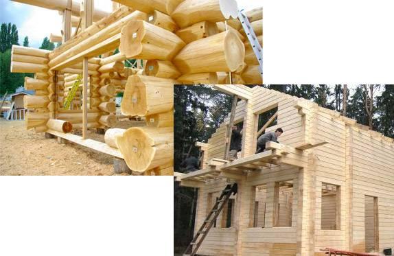 Баня из бруса или бревна: что лучше, особенности материалов и возведения