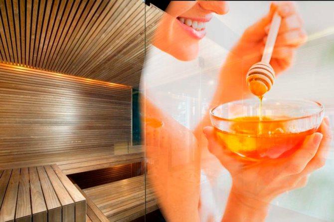 Соль и мед в бане - главные помощники в борьбе за здоровье