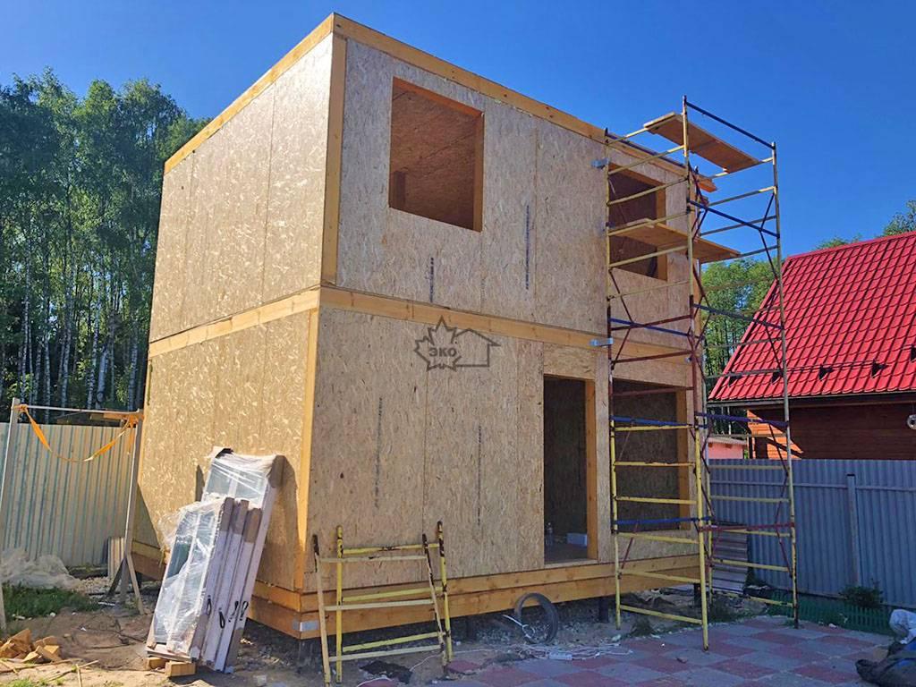 Баня из сип панелей: как построить баню из сип панелей, расчет материалов, последовательность работ