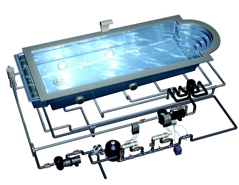 Какое оборудование необходимо для обустройства бассейна?