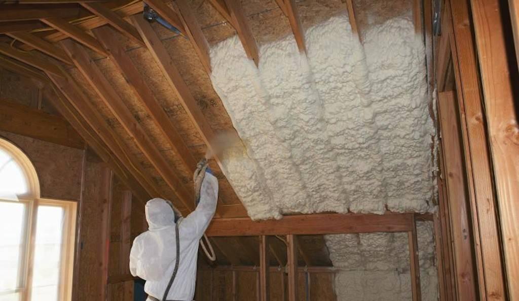 Утепление ппу: напыляемый утеплитель для стен из пенополиуретана.
