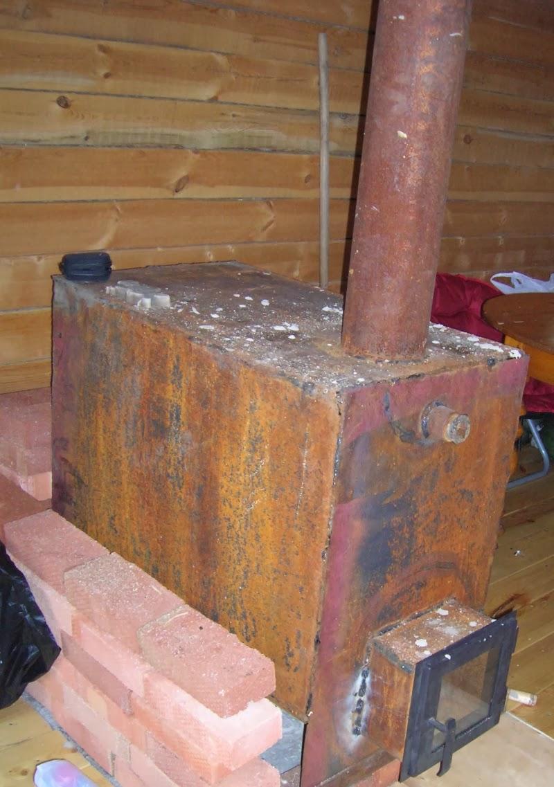 Чем покрасить печь в бане из металла, чтобы она долго не ржавела