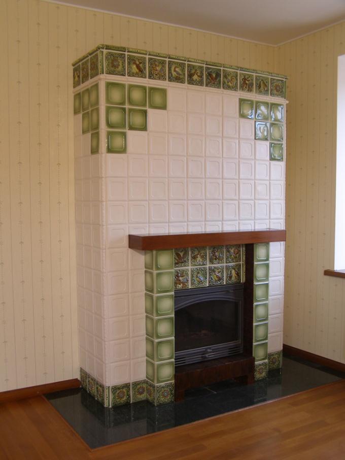Облицовка печи керамической плиткой своими руками - строим баню или сауну