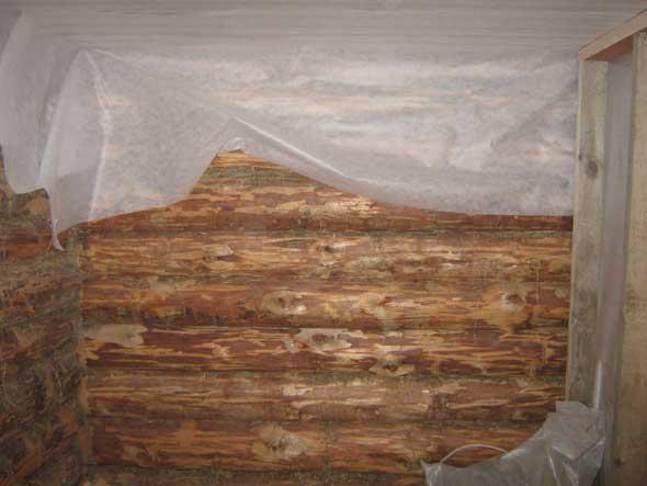Как утеплить парилку в деревянной бане изнутри