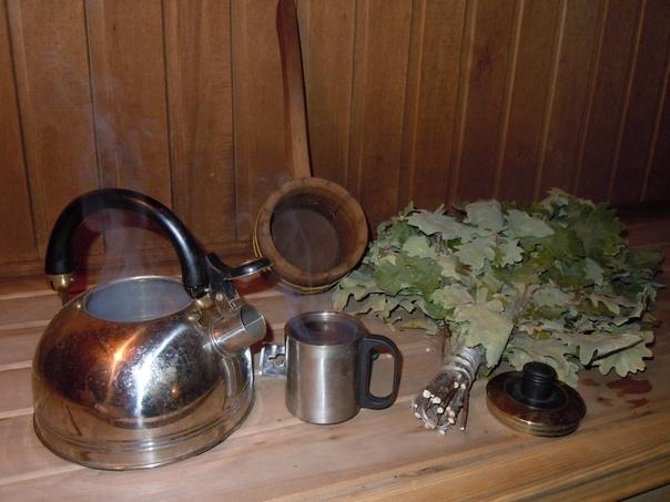 Какой чай пить в бане?