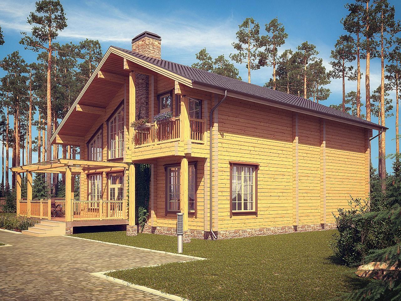 Сколько стоит построить дом из клееного бруса: 9 реализованных проектов. – статьи о ремонте и строительстве – диванди