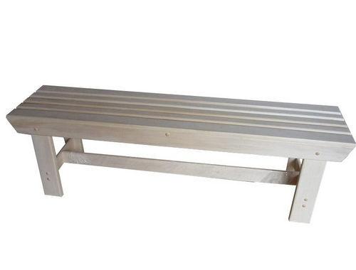 Скамейка для бани, материалы изготовления и инструменты