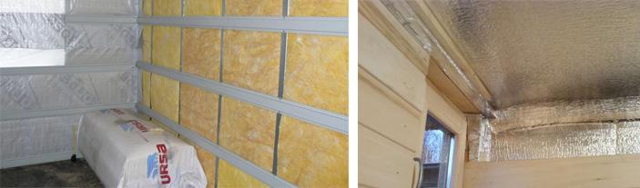 Делаем утепление бани из блоков изнутри: пеноблоков, керамзитобетонных, шлакоблока, газосиликатных. что у них общего и в чем разница?
