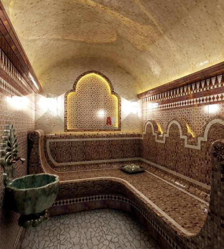 Хамам в коттедже. как построить турецкую баню в доме?