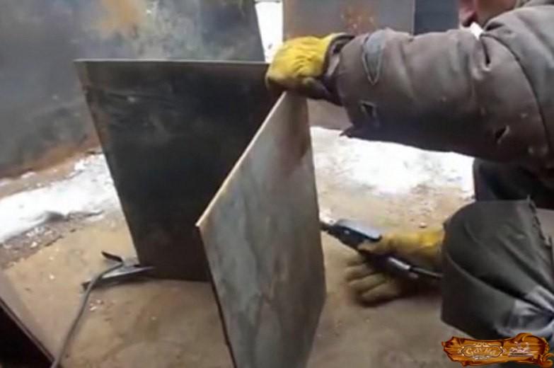 Как сделать металлическую печь своими руками – пошаговое руководство