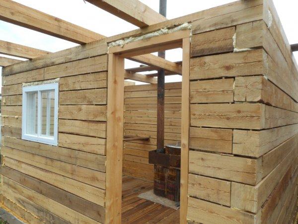Баня из бруса размером 150х150: расчет количества материалов, этапы постройки