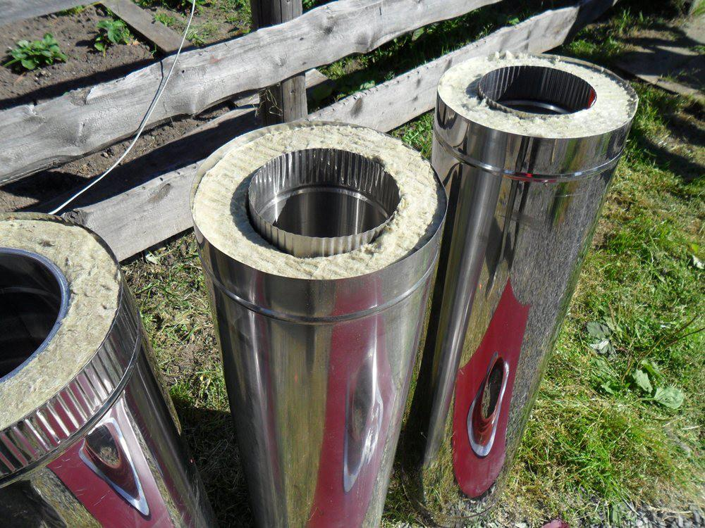 Сэндвич труба для бани: монтаж дымохода, как правильно установить своими руками трубу для печки