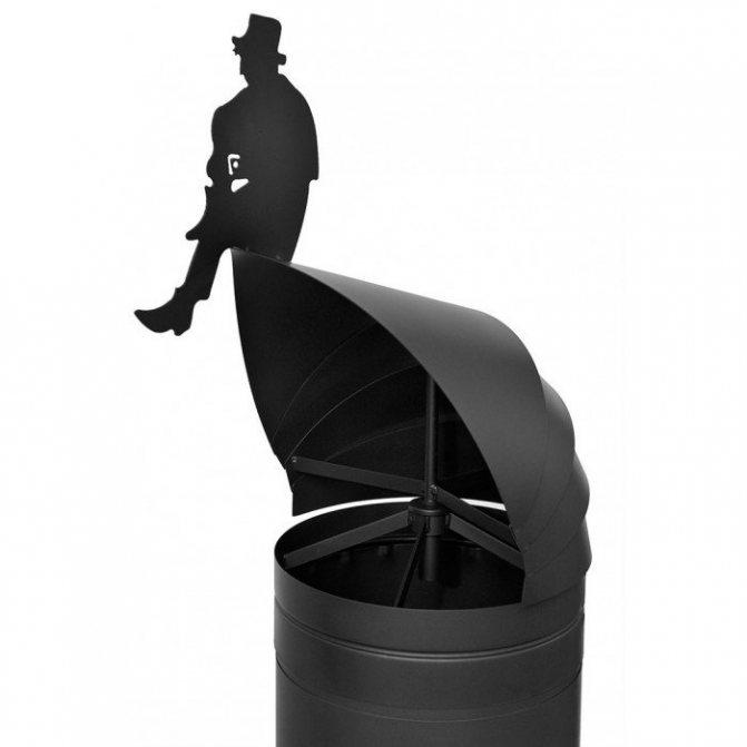 Дефлектор на дымоход своими руками - изготовление и установка!