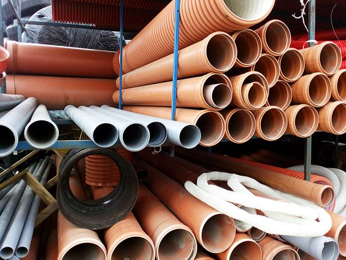 Канализационные трубы пвх: стандартные характеристики и монтаж