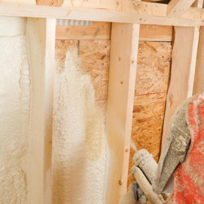 Пена для утепления стен дома: обзор, рекомендации