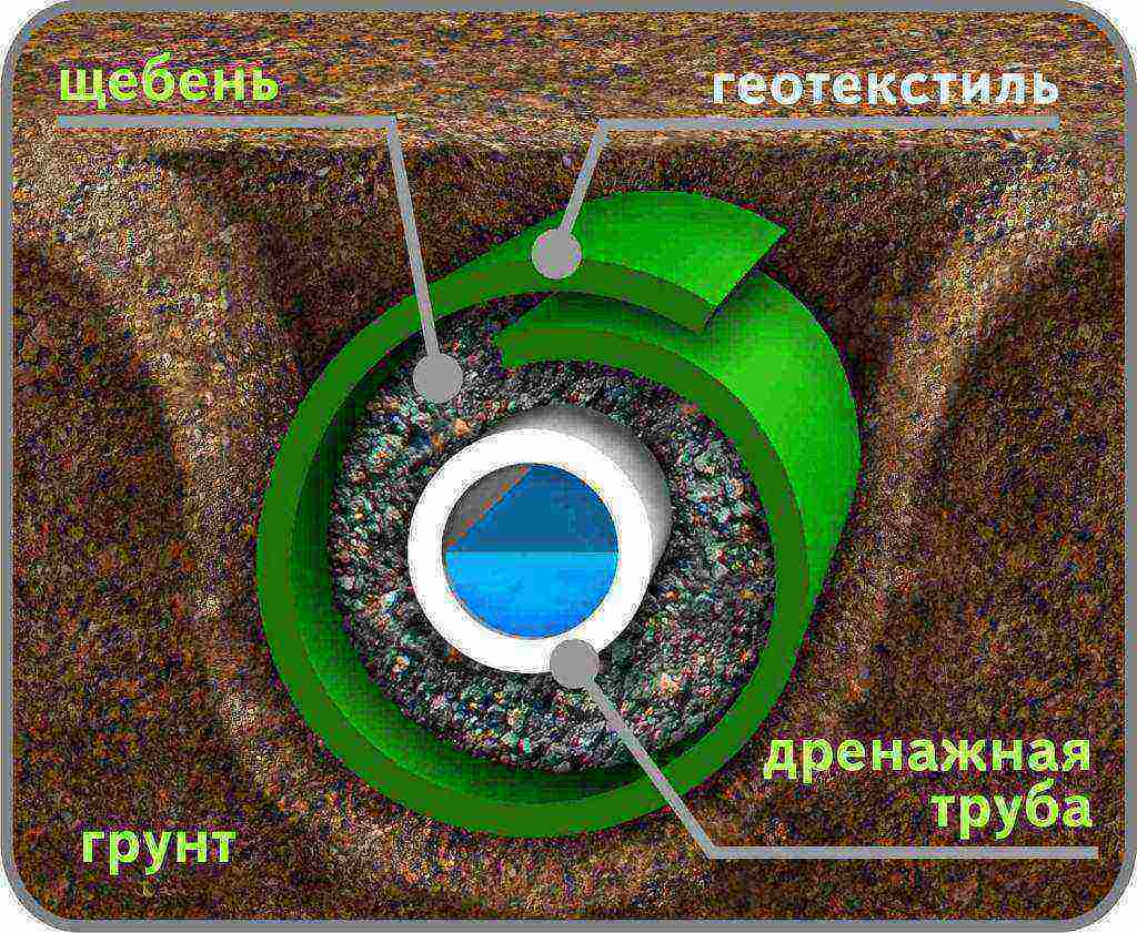 Что такое труба для дренажа: особенности монтажа дренажной системы, выбор труб