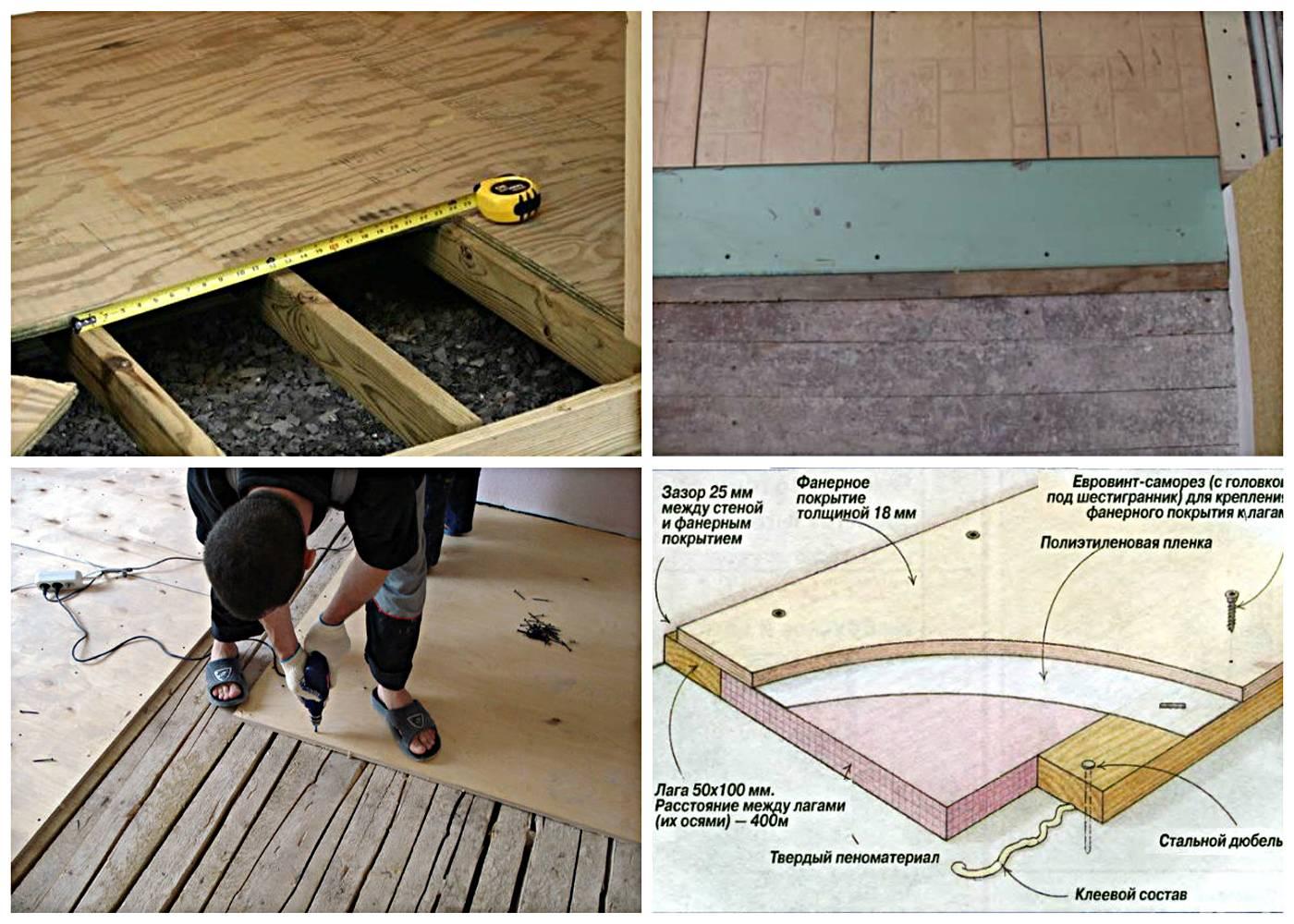 Делаем самостоятельно деревянный пол в квартире (из доски)