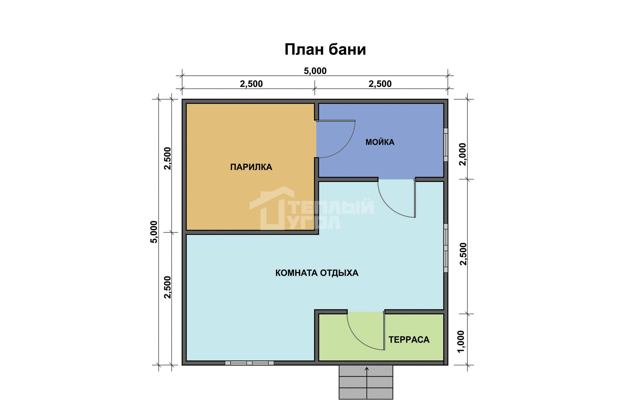 Баня с мансардой размером 6х6: дом с террасой, планировка с туалетом, каркасный терем из бруса, бревна и сруба