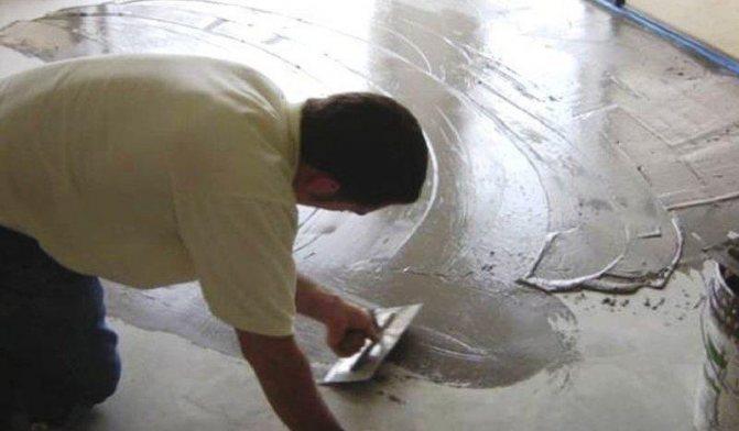 Железнение бетонных поверхностей технология
