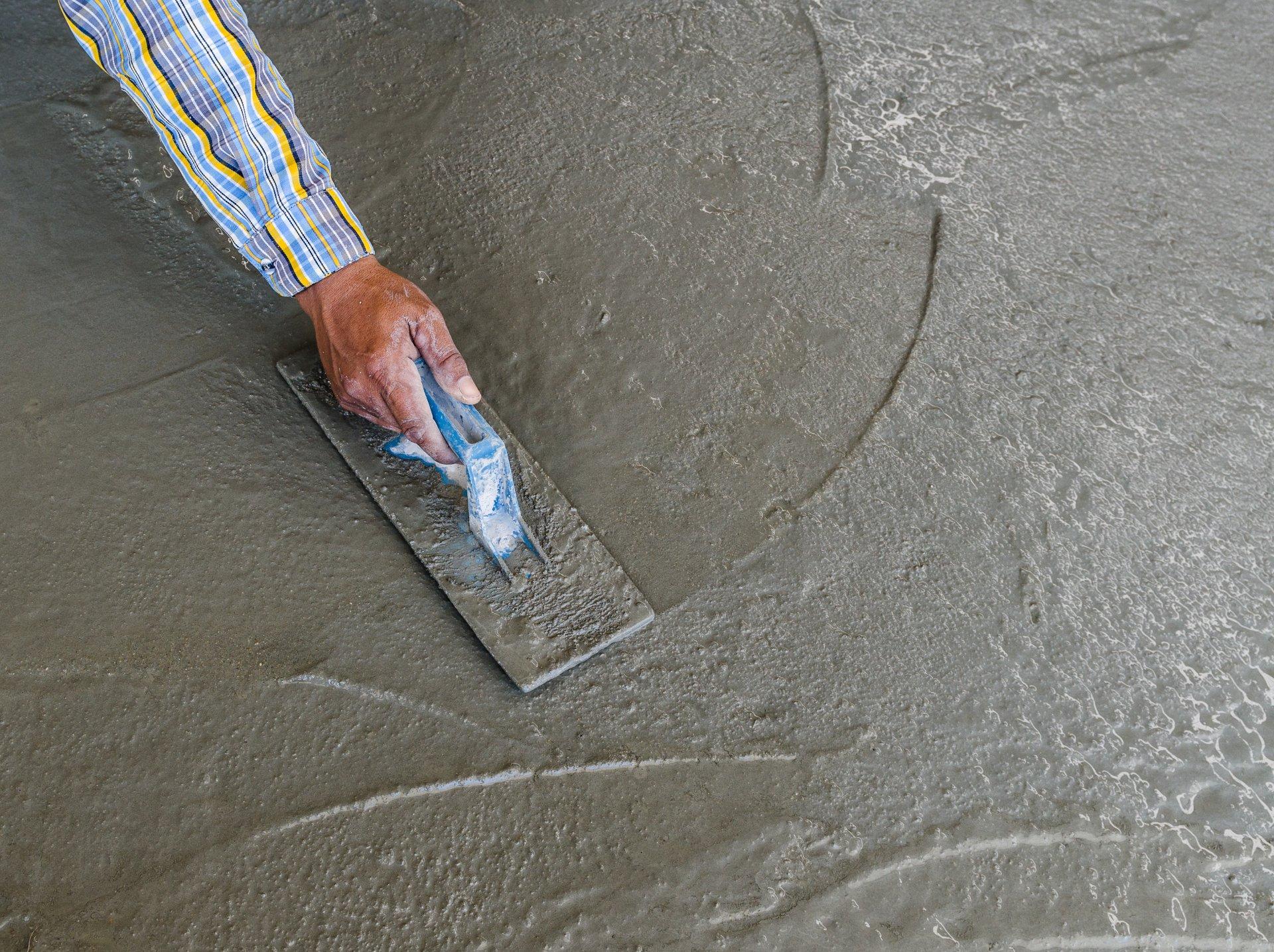 Железнение бетона в домашних условиях |