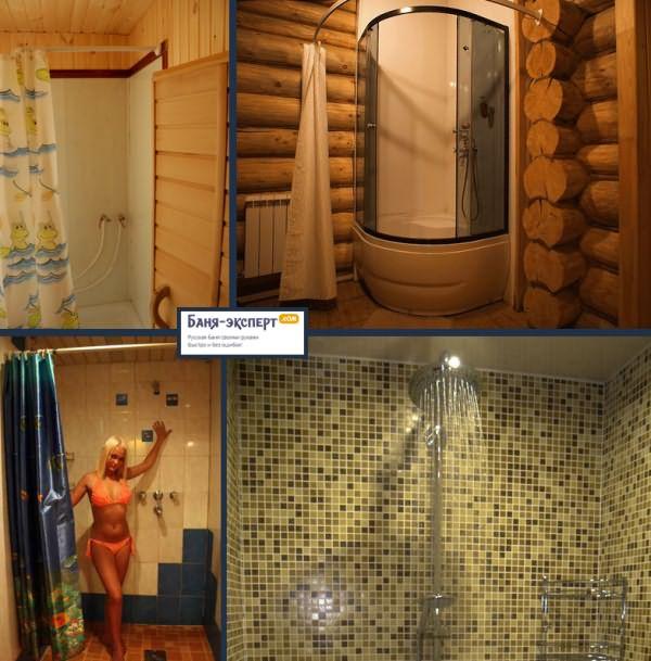 Душ в бане: как сделать своими руками - пошаговое руководство и фото внутри