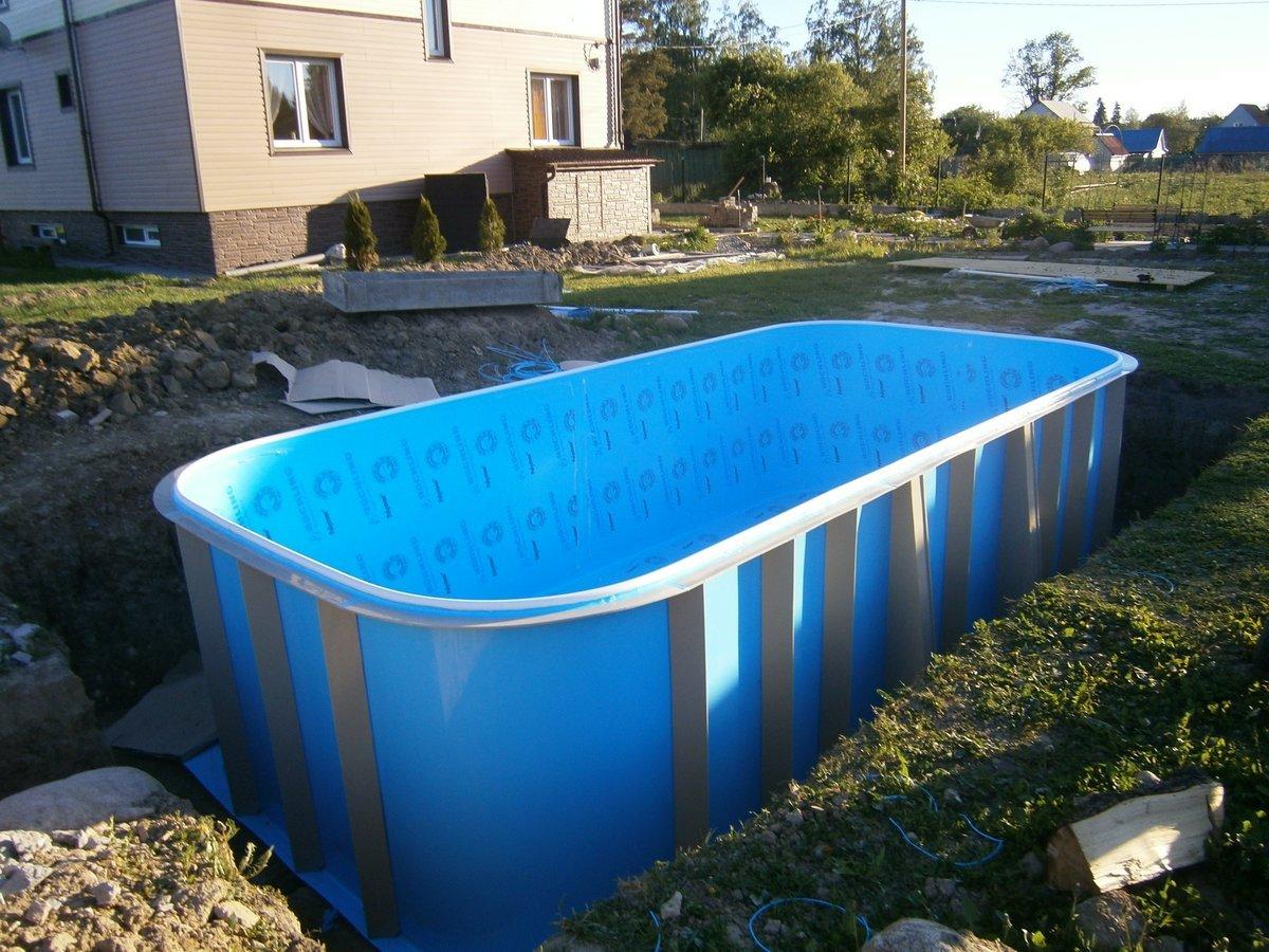 Бассейн каркасный прямоугольной формы: какой лучший для дачи, цены, отзывы, фото, инструкция, как собирать и обслуживать