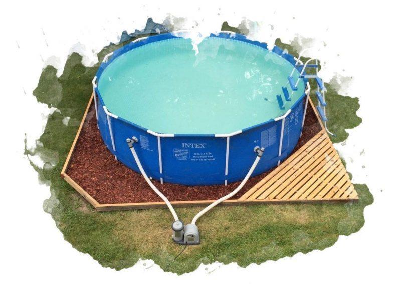 Топ-7 лучших каркасных бассейнов для дачи