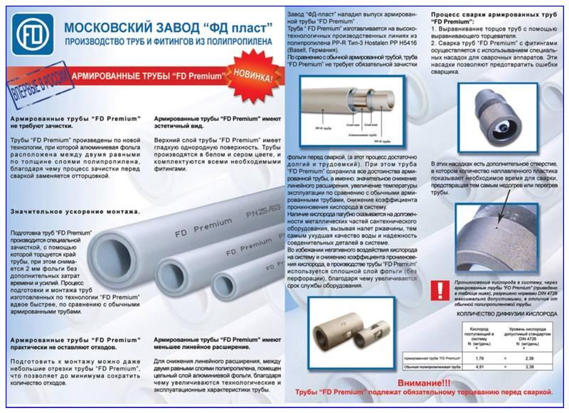 Какой материал трубы выбрать: полипропилен или металлопластик?